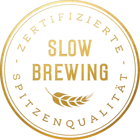 Slow Brewing Guetesiegel Hirter DE